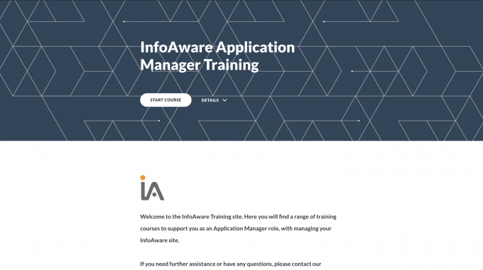 InfoAware-application-manager-training